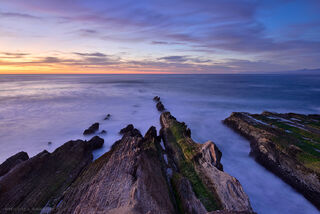 Sunset at Montana de Oro State Park in central California.
