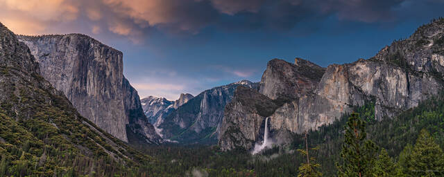 Summer Storm over Yosemite Valley