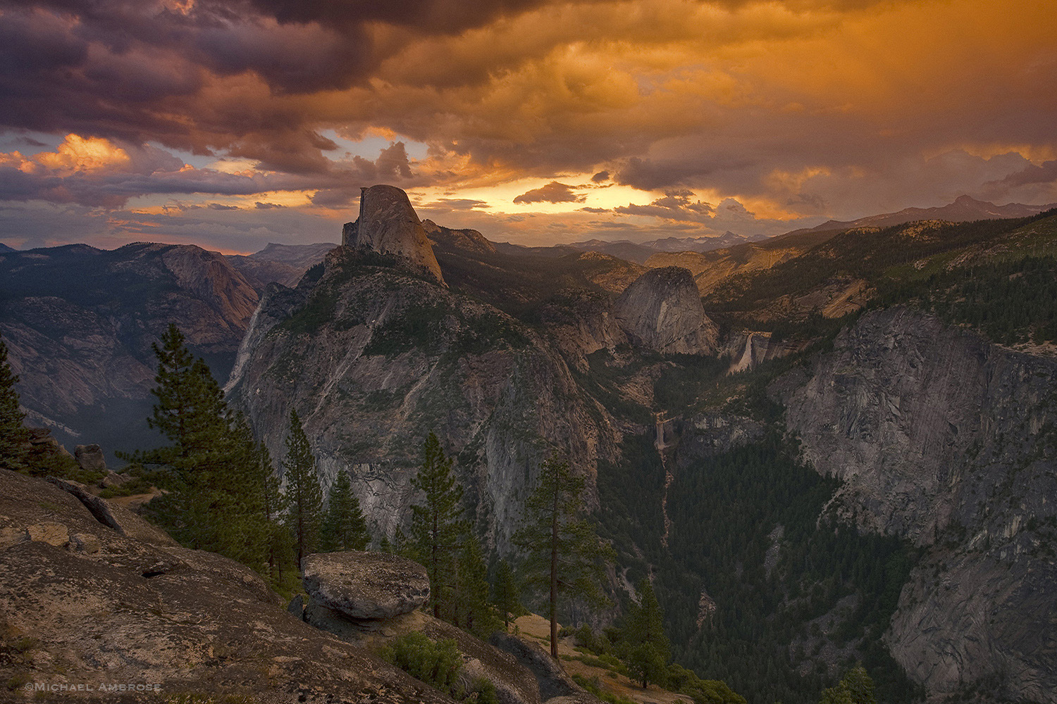 This was one of the strangest days I have experienced in Yosemite. The storm that was moving through the region was out of the...